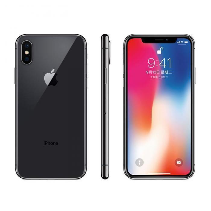 Apple iPhone X 256GB 深空灰 移动联通电信4G全网通手机