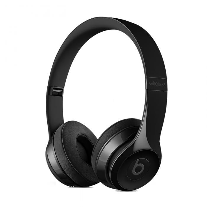 Beats Solo3 Wireless 头戴式 蓝牙无线耳机 手机耳机 游戏耳机 炫黑色