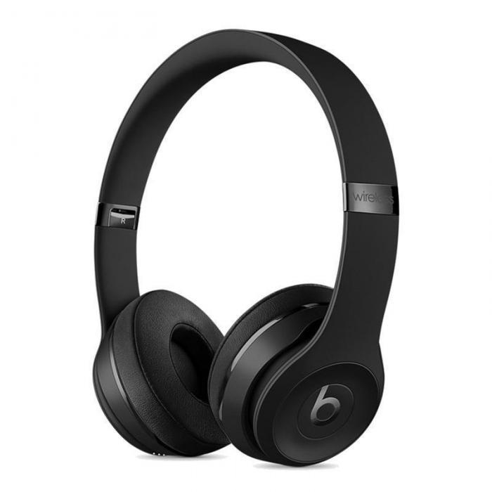 Beats Solo3 Wireless 头戴式耳机 无线耳机 -哑光黑 MP582PA/A