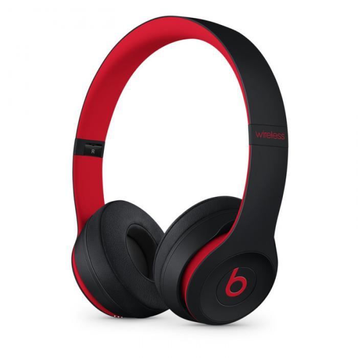 Beats Solo3 Wireless 头戴式 蓝牙无线耳机 手机耳机 游戏耳机 - 桀骜黑红(十周年版)